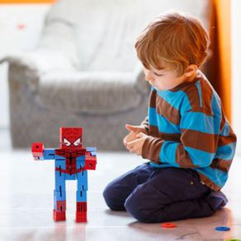 Juguete-De-Acci-n-Marvel-Spiderman-De-Madera-16-x-8-cm-3-1655