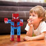 Juguete-De-Acci-n-Marvel-Spiderman-De-Madera-16-x-8-cm-4-1655