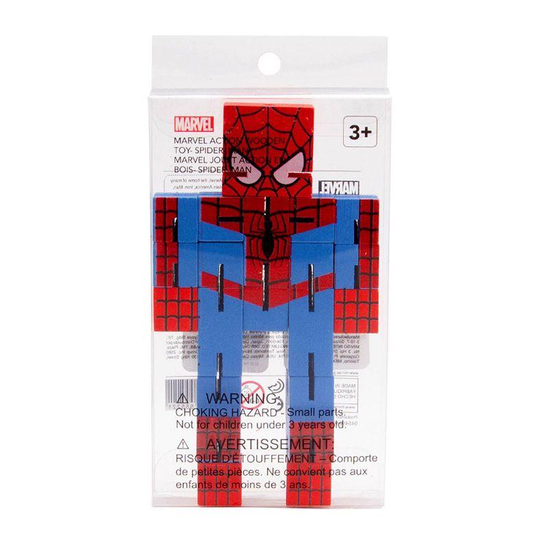 Juguete-De-Acci-n-Marvel-Spiderman-De-Madera-16-x-8-cm-1-1655