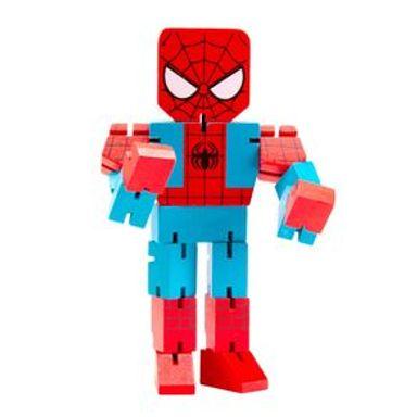 Juguete De Acción Marvel Spiderman De Madera, 22 x 12 cm