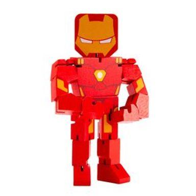 Juguete De Acción Marvel Iron Man De Madera, 22 x 12 cm