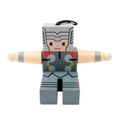 Juguete De Acción Marvel Thor De Madera, 12 x 11 cm
