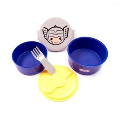 Contenedor Marvel Thor Para Alimentos Doble
