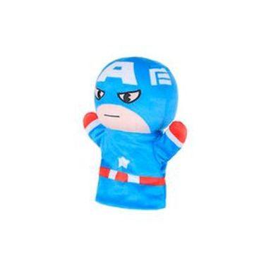 Peluche Marvel Capitán América Marioneta De Mano, 22 cm