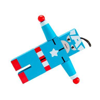 Juguete De Acción Marvel Capitán América De Madera, 12 x 11 cm