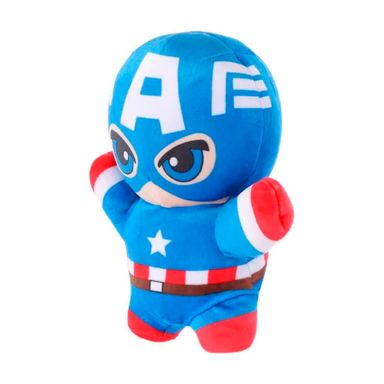 Peluche Marvel Capitán América, Marioneta De Mano, 26 cm