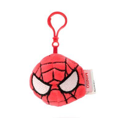 Llavero Marvel Spiderman Circular, De Felpa