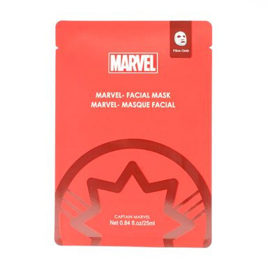 Mascarilla Facial Marvel Capitana Marvel, 1 Pieza
