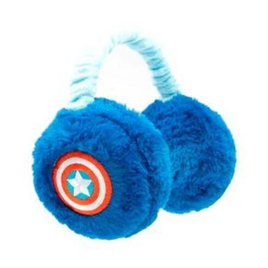 Orejeras  Marvel Capitán América Tipo Diadema, De Felpa