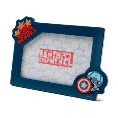 Portarretrato Marvel Capitán América, Madera 18 x 13 cm