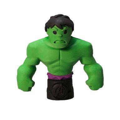 Borrador Marvel Hulk  Figura Armable 3D, 5 cm
