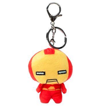 Llavero Marvel Iron Man Cabezón, De Felpa