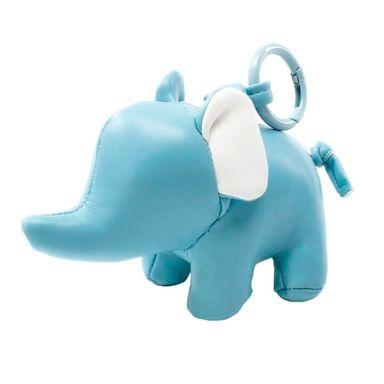 Llavero Diseño Elefante 3D, Varios Colores