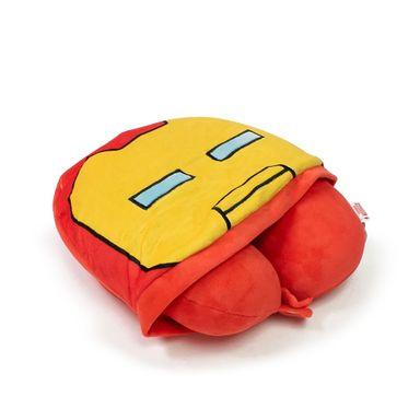 Almohada Para Viaje Marvel Iron Man En Forma De U Con Capucha