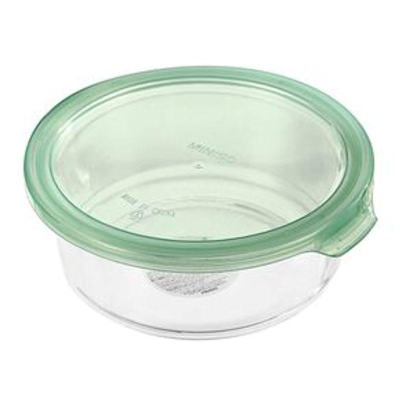 Contenedor-Para-Alimentos-Redondo-De-Vidrio-Verde-400-ml-2-3283