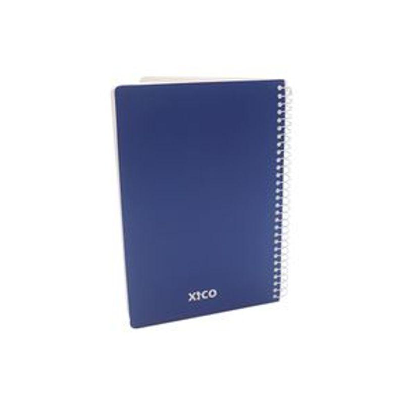 Libreta-Xico-Series-Coraz-n-Con-Espiral-A5-Azul-La-21-x-An-15-3-x-Al-1-8-cm-0-188-G-Papeler-a-112-Hojas-2-5471