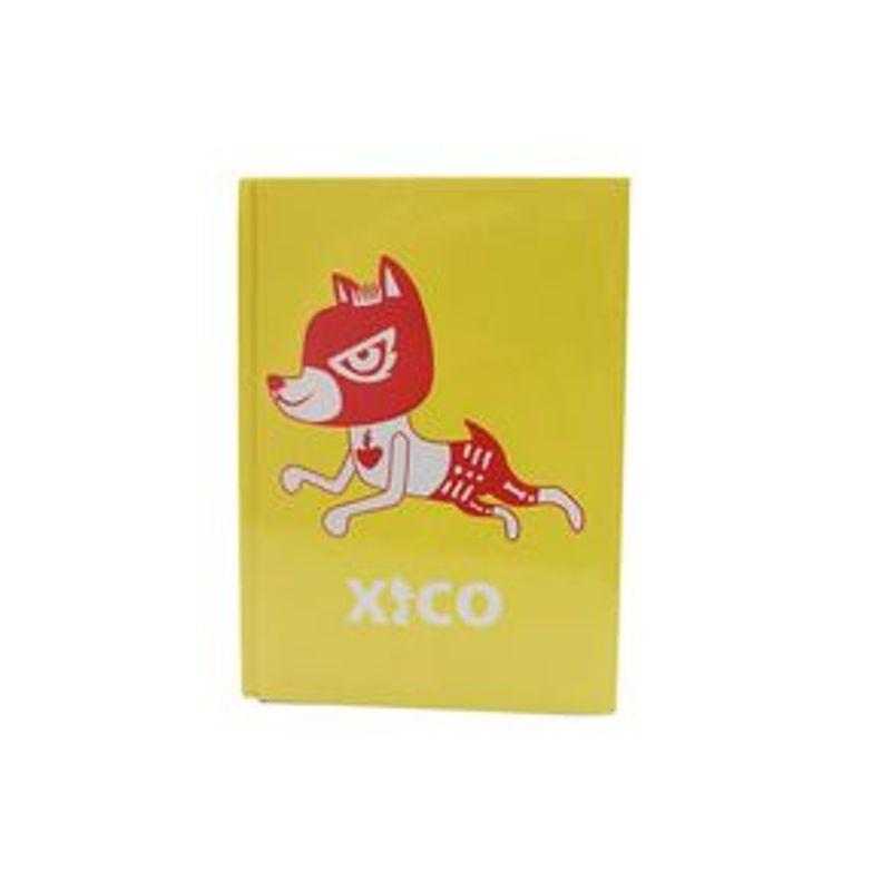 Libreta-Xico-Series-Xico-Enmascarado-Pasta-Dura-A6-Amarillo-La-14-6-x-An-10-6-x-Al-1-7-cm-0-166-G-Papeler-a-112-Hojas-2-5473