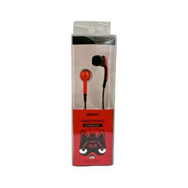 Audífonos Xico Series De Cable Rojo La 14.8  x An 4.7 x Al 3.3 cm 0.03 G Tecnología
