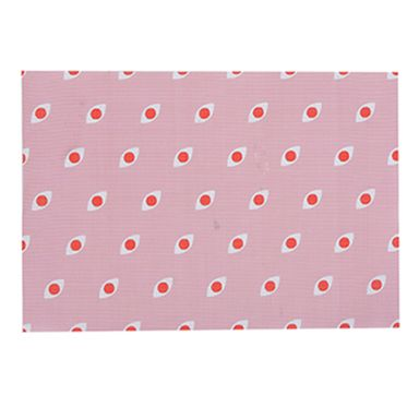 Manteles Individuales Rosas 17.7x11.8 cm 2 Piezas
