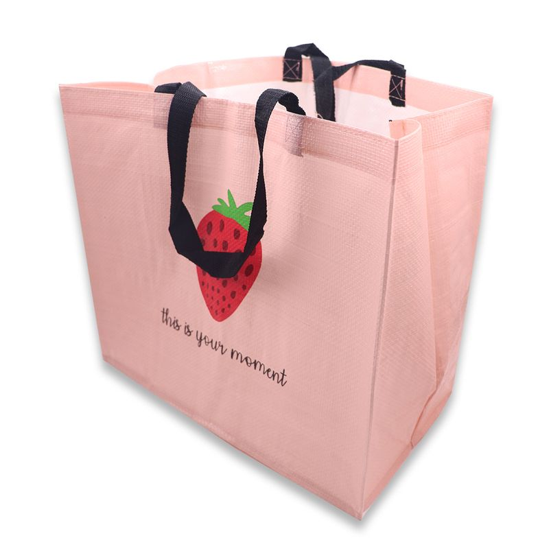 Bolsa-De-Regalo-Fruit-Series-Fresa-Tela-pl-stica-Rosa-40-2x35-2x1-9-cm-Papeler-a-1-5536