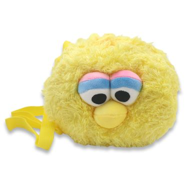 Bolsa Crossbody Sesame Street Big Bird Tela Amarillo 21x17.2x10.4 cm Bolsas y mochilas