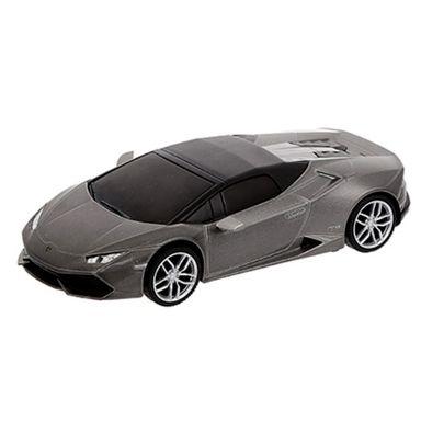 Vehículo A Escala Modelo Lamborghini Huracán Gris 20x9 cm
