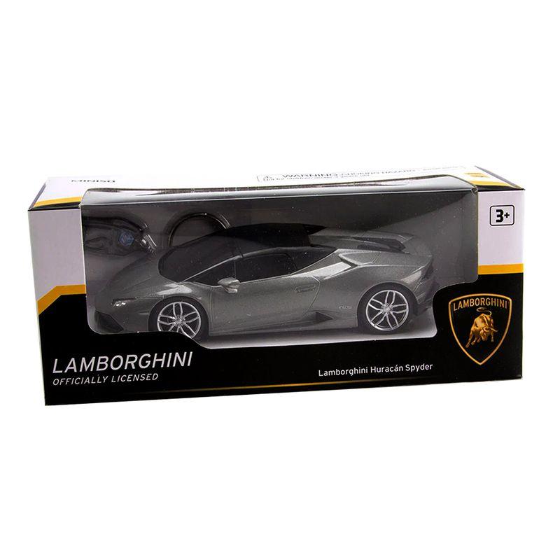 Veh-culo-A-Escala-Modelo-Lamborghini-Hurac-n-Gris-20x9-cm-1-903