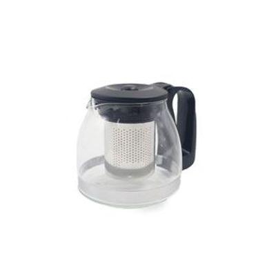 Tetera Con Infusor Vidrio Negro 700 ml
