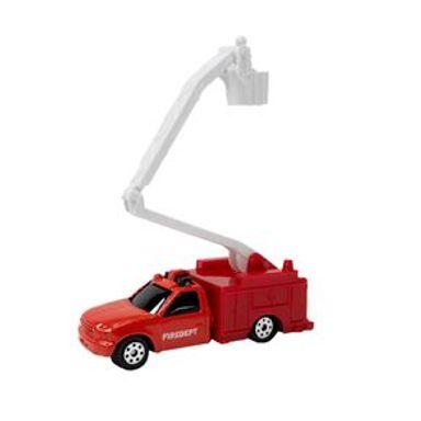 Carro De Juguete Bombero Rojo