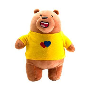 Peluche  We Bare Bears Pardo 22 X 22 X 12 CM
