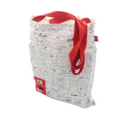 Bolsa Para Compras Con Asas Sesame Street Plástico 40.5X33.4X2.1cm