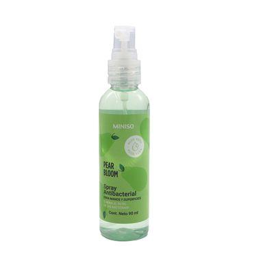 Spray Antibacterial Para Manos Y Superficies Verde 90 ml Pera