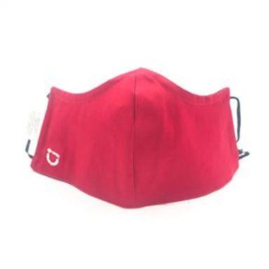 Cubrebocas Reutilizable Tela Rojo