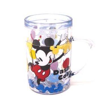 Vaso De Doble Capa Disney Mickey Mouse Plástico 250 ml
