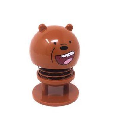 Figura We Bare Bears Pardo Para Coche Plástico Café