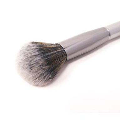 Brocha De Maquillaje Para Rubor Plateado