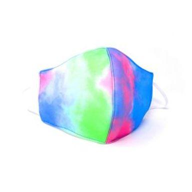 Cubrebocas Reusable Tie-dye Azul 1 Pieza