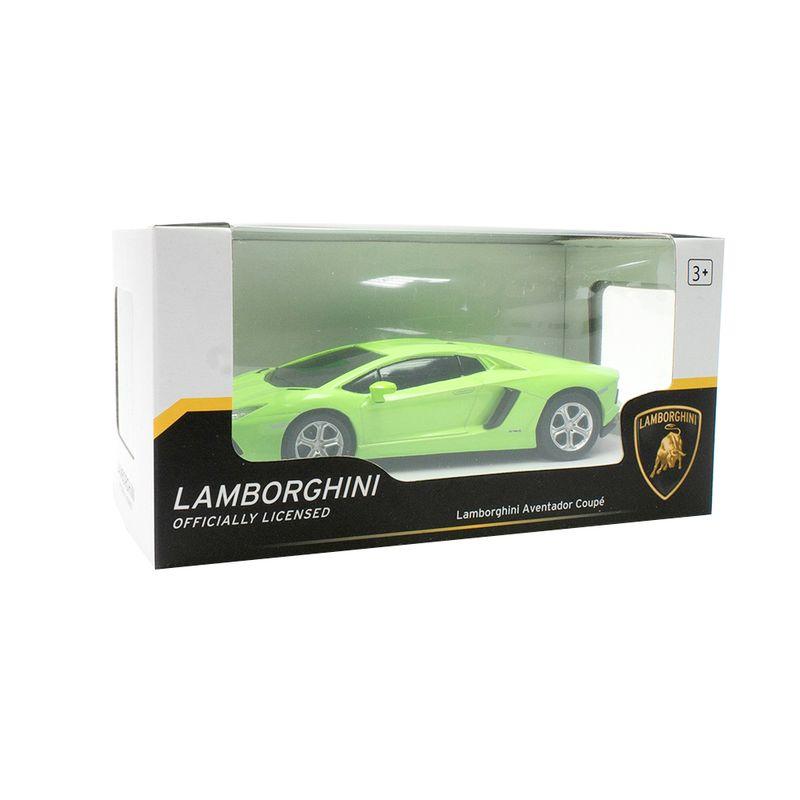 Veh-culo-A-Escala-Modelo-Lamborghini-Aventador-Verde-18x9-cm-1-902
