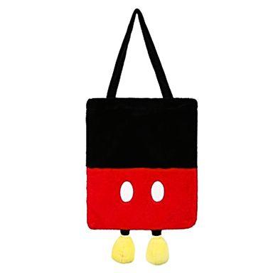 Bolsa Disney Mickey Mouse Tipo Bloque Con Patas Felpa 40X2X33cm
