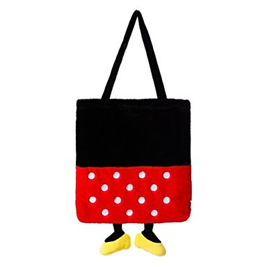 Bolsa Disney Minnie Mouse Tipo Bloque Con Patas Felpa 40X2X33cm