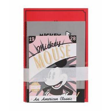 Paquete De Libretas Disney Mickey Mouse Encuadernado A Puntadas Diferentes Tamaños 20X10cm 26 Hojas 5 Libretas