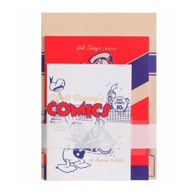 Paquete De Libretas Disney Pato Donald Encuadernado A Puntadas Diferentes Tamaños 20X10cm 24 Hojas 3 Libretas