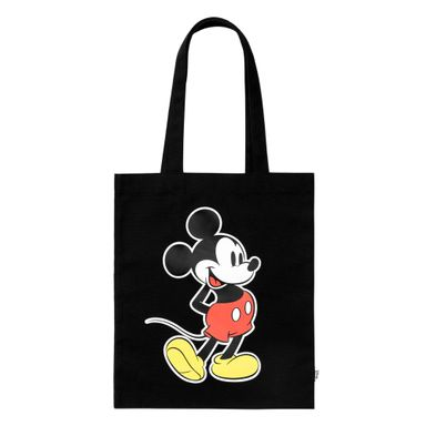 Bolsa Para Compras Disney Mickey Mouse Negro 11X12X18.5cm