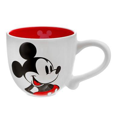 Taza Disney Mickey Mouse Cerámica Blanco 722 ml