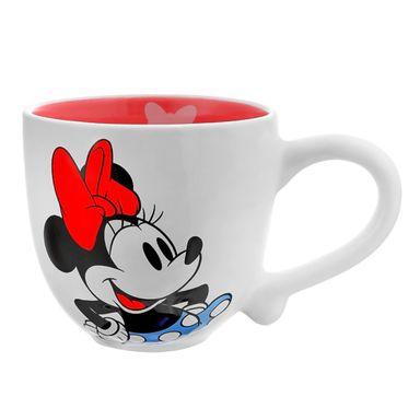 Taza Disney Minnie Mouse Cerámica Blanco 721 ml