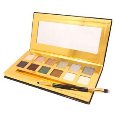 Paleta De Sombras 12 Colores Con Espejo Y Aplicador Mod Glowing To Go #1