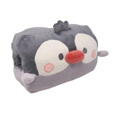 Cojín Pingüino 3D Gris 28.6X24.4X18.8cm