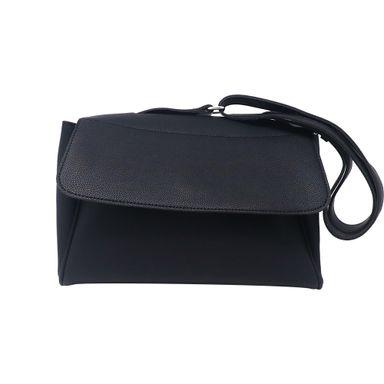 Bolsa Crossbody Tipo Portafolio Negro 23X1X18cm