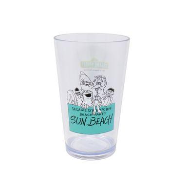 Vaso Con Personajes Sesame Street Plástico Verde 425 ml