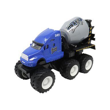 Carro De Juguete Tipo Camión Mezclador Azul